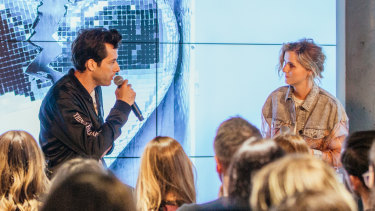 Mark Ronson In conversation at Spotify.