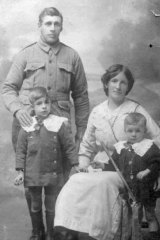 Alfred Lovett and his family.