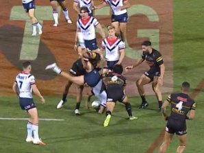 It was argued Jared Waerea-Hargreaves' eagerness to get to the ground contributed to the ''impression of a lift''.