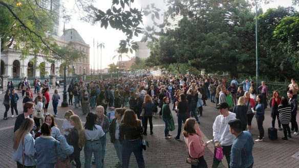 Teens hope organised walk will reclaim Brisbane streets for women