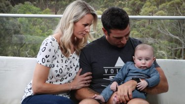 Michelle and Ryan Powell will care for their nephew Slater,Kristie Powell's baby son.