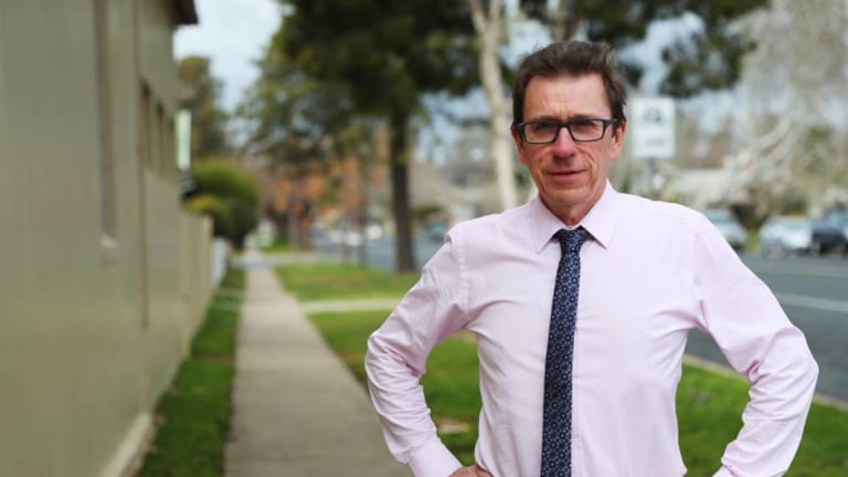 Independent candidate for Wagga  Wagga Joe McGirr is seen as the Liberals biggest threat in the seat.