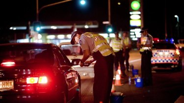 Constable Joshua Price was found with a blood alcohol limit of .242 per cent.