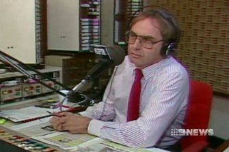 Sattler was Perth's first radio shock jock.