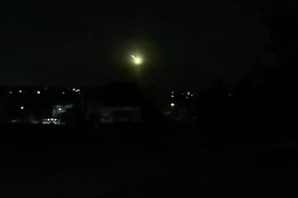 Incredible dash-cam footage captured Friday night's meteor over Melbourne.