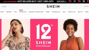 Shein uses influencers on Instagram and TikTok, and discount codes, to attract younger shoppers in an increasingly crowded fashion market.
