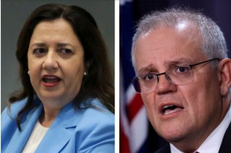 Premier Annastacia Palaszczuk does not want Queenslanders under 40 to get the AstraZeneca vaccine despite Prime Minister Scott Morrison opening it up to them.