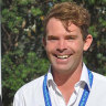 Knox swimming coach Nick Warby, who has been charged with possessing child abuse material.