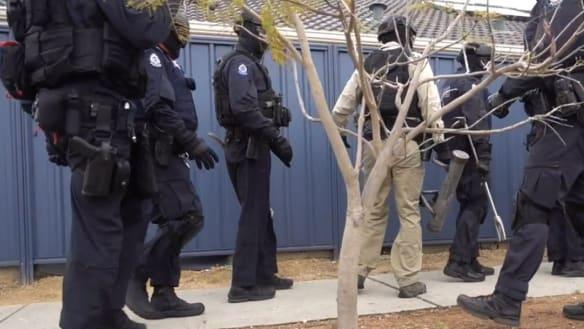 Raids on Byford home spark string of gun, drug charges as Perth bikie wars ramp up