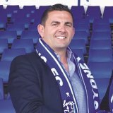 Sydney Olympic president Bill Papas is the businessman who has acquired Xanthi FC.