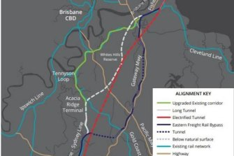 A joint state and federal business case is expected to consider the most effective option to get rail freight from Acacia Ridge to the Port of Brisbane, and any associated impacts.