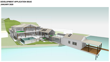 Bill Papas' renovation plans for his $5.8 million property on the NSW Central Coast.