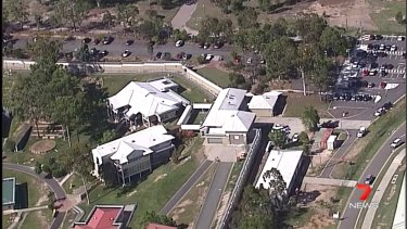 The cluster at the Queensland Youth Detention Centre in Wacol (above) has now been linked to that of the Queensland Corrective Services Academy.