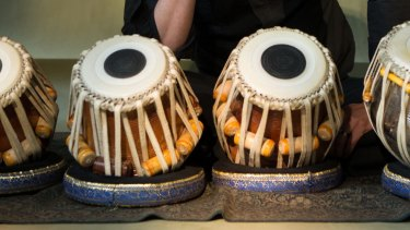 The tabla is a percussion instrument from the Indian subcontinent.