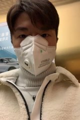 Daniel Ou Yang is unable to return home to Sydney after travelling to Wuhan to visit his grandparents.
