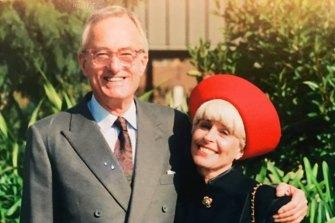 Murder victim Charles Skarratt with his wife, Monika.