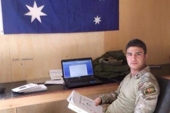 Ahmad Elham Shahwar worked for the US and Australia in Afghanistan.
