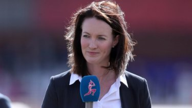 """""""I'm tremendously excited to be joining Seven in a new era for Australian cricket coverage"""": Alison Mitchell."""