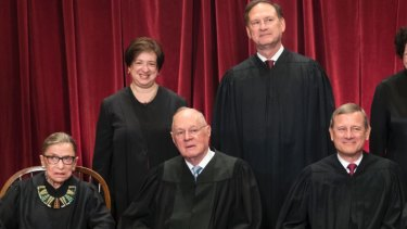 Supreme Court judge Elena Kagan (top left) was one of several women mocked by Carlson.