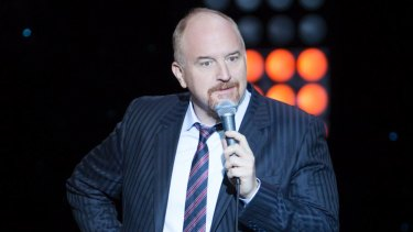 Comedian Louis C.K. was accused of sexual misconduct.
