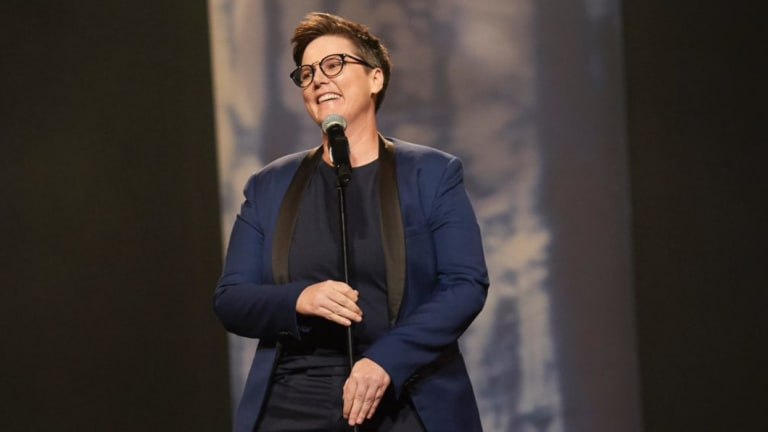 Hannah Gadsby performs Nanette live at the Sydney Opera House.