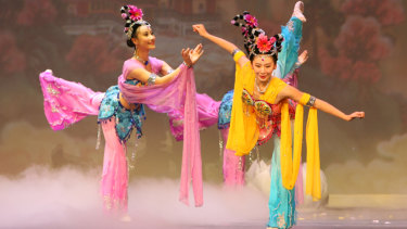 Shen Yun has been forced to issue a statement that their dancers are based in the USA.