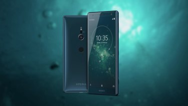 The Xperia XZ2 is a lot curvier than any Sony phone of the past five years.