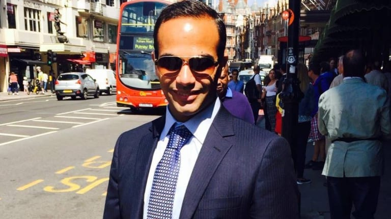 The fiance of George Papadopoulos, a former foreign policy adviser to Trump who pleaded guilty to lying to the FBI, has raised the issue of a pardon.