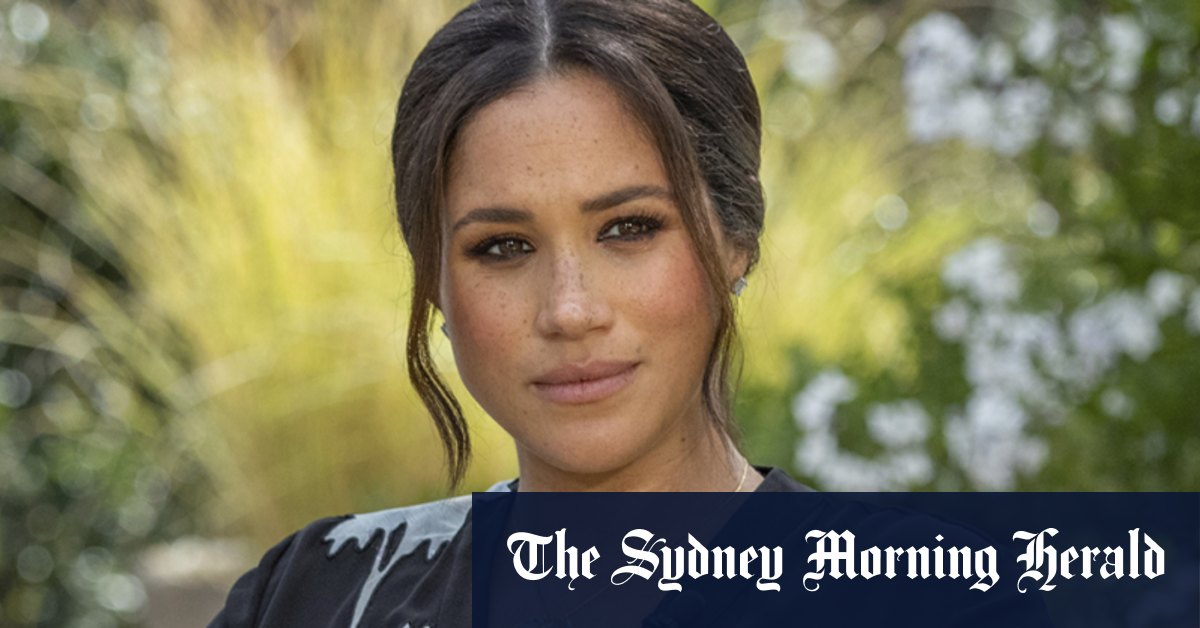 I'm now free to speak out Meghan says in Oprah interview – Sydney Morning Herald