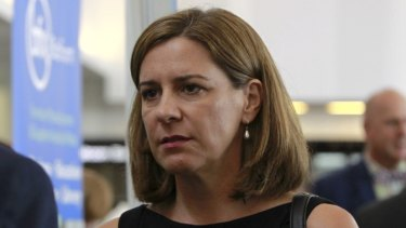 """Opposition Leader Deb Frecklington says there's """"one rule for some and another rule for everyday Queenslanders""""."""