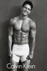 Mark Wahlberg was better known as Marky Mark and modelling for Calvin Klein in the 1990s.