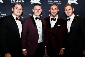 George, Luke, Sam and Tom Burgess in 2019.