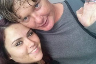 Natasha Hogan and Jason Considine, pictured here in 2014.