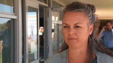 Rachael Hains-Wesson datang ke WA untuk mengunjungi rumah liburan barunya ketika kebakaran terjadi.