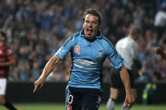 Alessandro Del Piero took excitement to new levels when he turned out for Sydney FC in the A-League.
