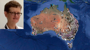 Dr Julie Delforce has been stood down from DFAT pending an investigationamid revelations she is the co-owner of a group of websites related to Aussie Farms, which published a controversial map with the details and addresses of thousands of farmers.