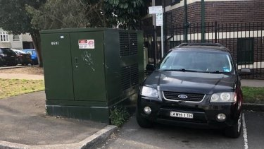 The electricity distribution boxes are a common feature in Sydney suburbs.