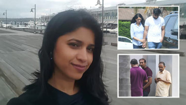 Family and friends of Dr Preethi Reddy gathered outside her home in South Penrith on Wednesday morning after news of her death broke.