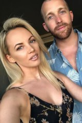 Samantha Jade has gotten engaged to Pat Handlin, son of Sony Music Australia CEO Denis Handlin.