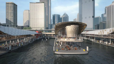 Concept designs for Circular Quay released in 2015.