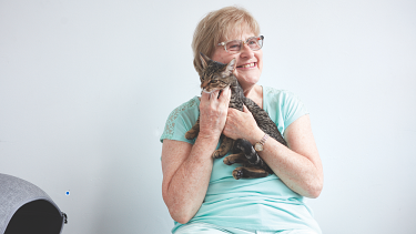 Wendy lives in a wonderful neighbourhood, with good friends and a strong positive influence.