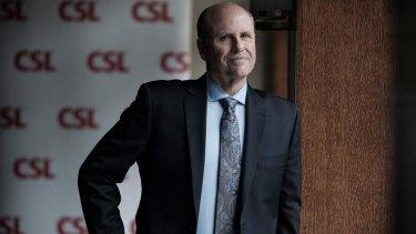 CSL chief executive Paul Perreault.