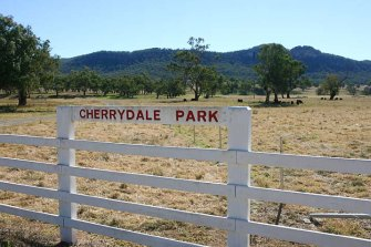 The Obeid family purchased Cherrydale Park near Mount Penny for $3.65 million in 2007.