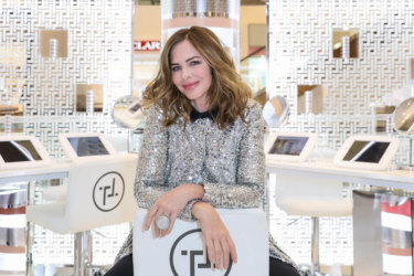 Trinny Woodall at her TRINNY London pop-up.