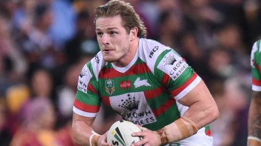 Hands off: Souths say they won't be releasing George Burgess to join the Eels this year.