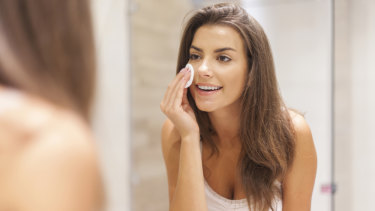 Combining cleansing and exfoliator is the latest beauty trend.