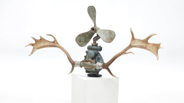 'Triffid' is part of Christopher Trotter's exhibition.