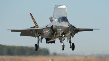 The F-35 Joint Strike Fighter are among the assets not meeting their benchmarks.