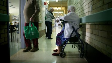 The audit found more than 75 per cent of aged care staff are not nurses and are unqualified.