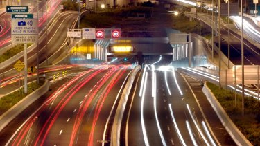 Transurban will release detailed traffic data for toll roads such as the Lane Cove Tunnel.